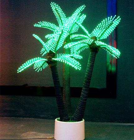 Lighted LED Palm Tree, Coconut Tree, Lighting Outdoor Garden Lights