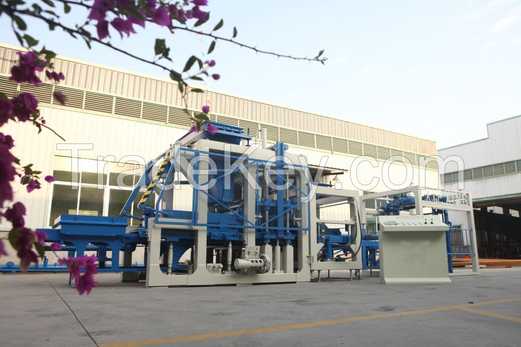 Good Quality High Performance Block Making Machine QY6-24(QT6)
