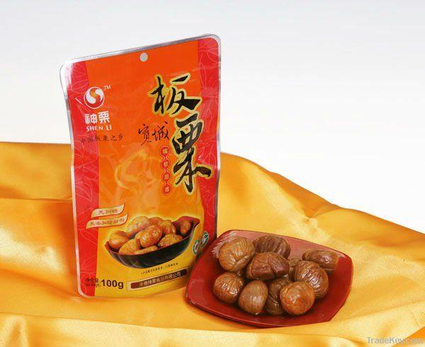 2012 Peeled Roasted Chestnut in Foil Bag