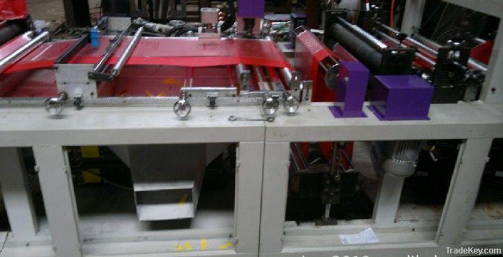 Automatic Non-woven Zipper Bag Machine
