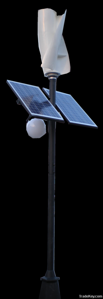 wind and solar street light