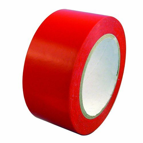 Multi Purpose Red Stucco Tapes--No Residue Polyethylene Vinyl Tape