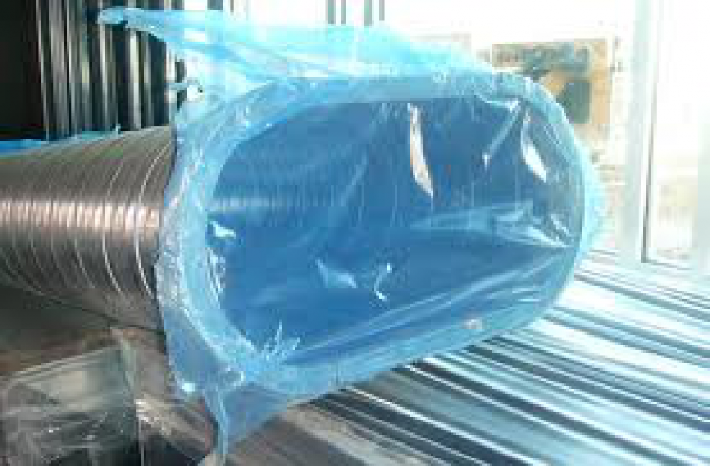 PE Plastic Puncture Resistance Duct Protection Film