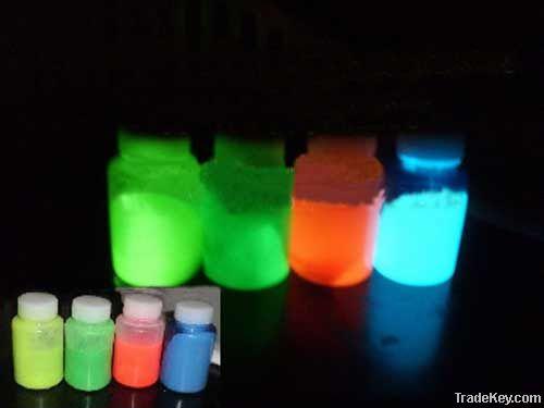 self luminous photoluminescent paint glow in the dark
