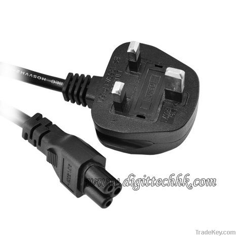 Universal AC Power Supply 3-Prong Cable Adapter Cord