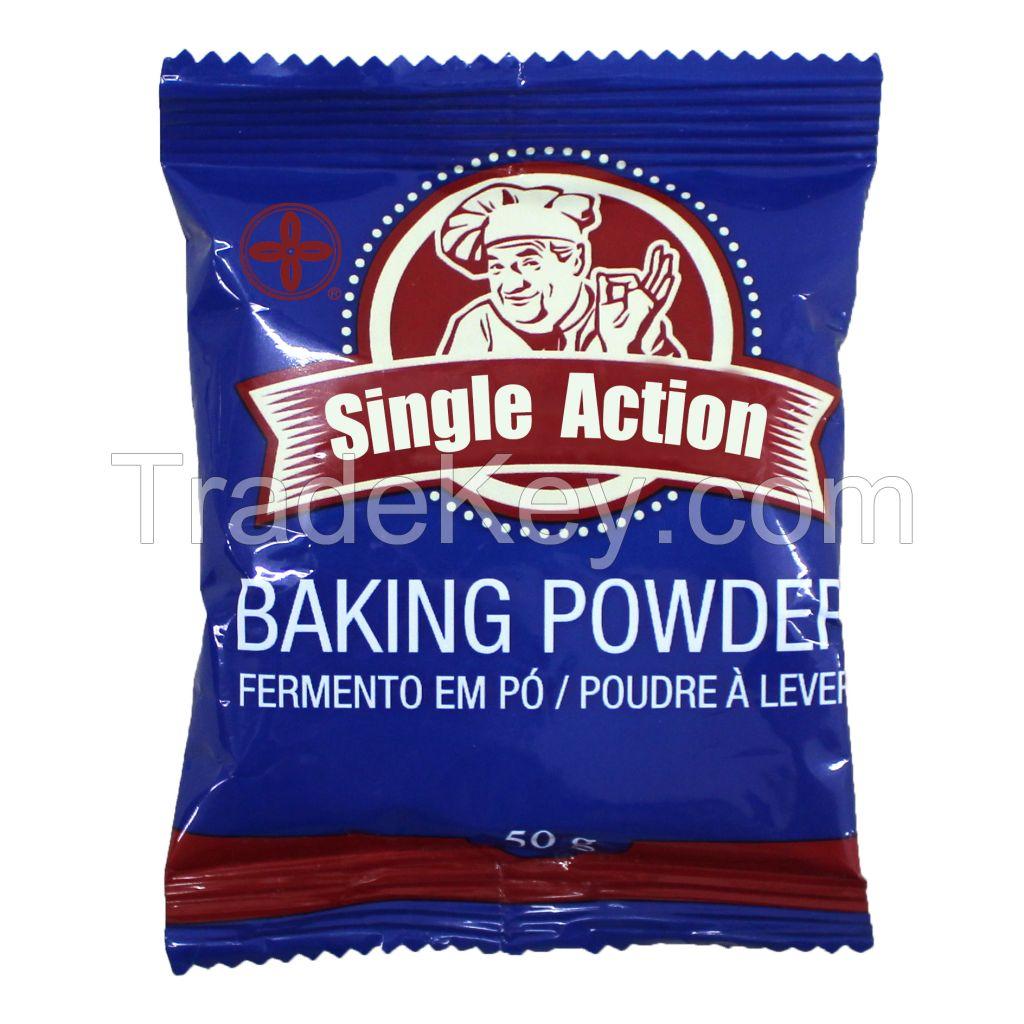 baking powder with baking soda for bakery