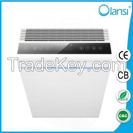 OLS-K07A Homeleader Air Purifier for Allergies and Dust, Air Cleaning System with True HEPA