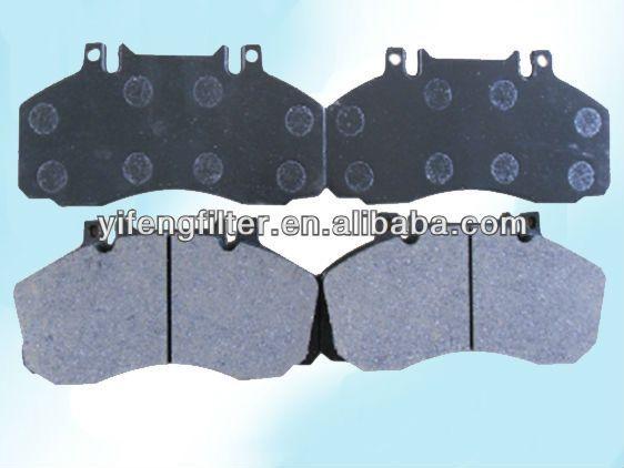 Truck brake pad 29835/ D1062 for Mercedes Benz Vario, T2/LN1
