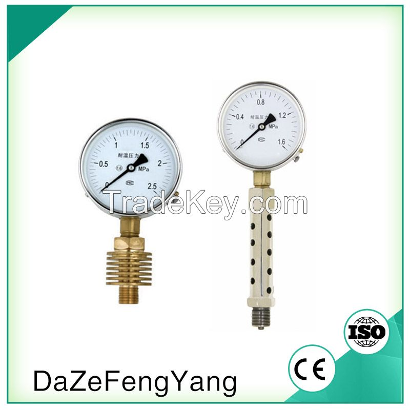 Lower mount with high quality steam boiler pressure gauge