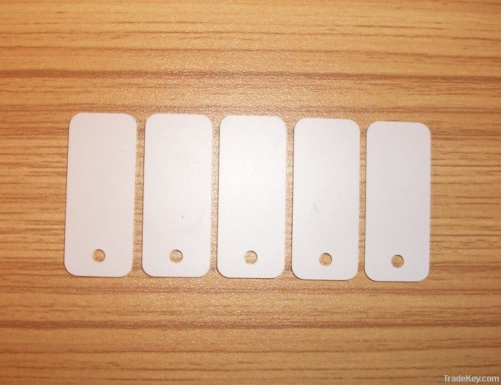 Epoxy RFID Clothes Hang Tag/Jewelry Tag with Mifare 1 S50 36*15MM HF T