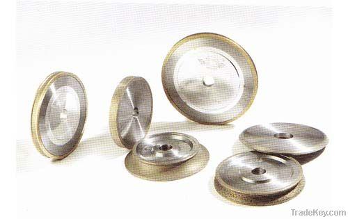 Wheels for straight line edging machine/shape edging machine