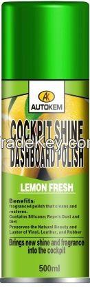 Cockpit Shine or Dashboard Polish/ dashboard polish spray