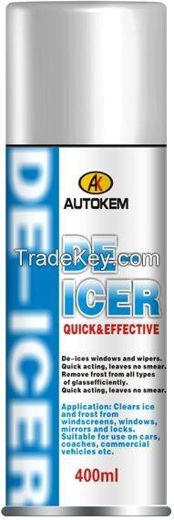 De-Icer car ice remover spray car De-Icer