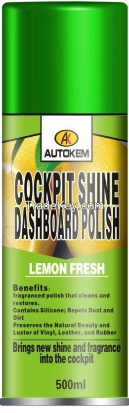 Cockpit Shine or Dashboard Polish/ bashboard polish