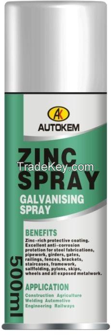 zinc spray paint