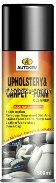 upholstery cleaner,carpet cleaner,car care product