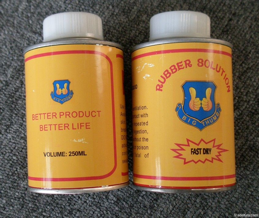 rubber solution glue for tires