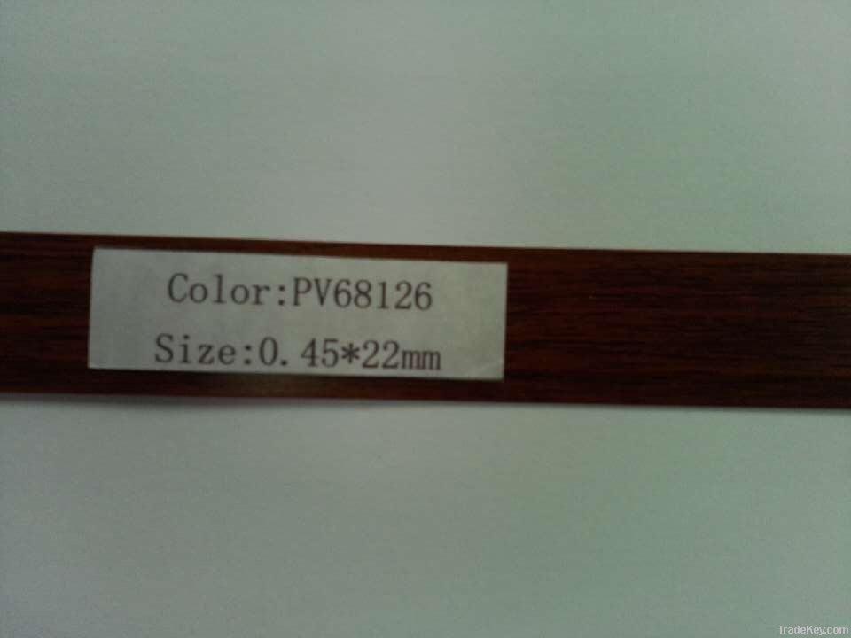 PVC egdband