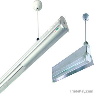 LED T8/T5 energy saving integrated covered drum batten (British/Japan)