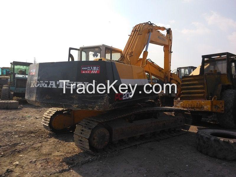 Used Komatsu PC200-5 Excavator