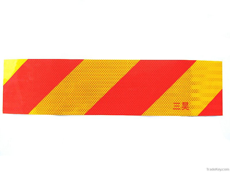 reflective vehicle tail sign