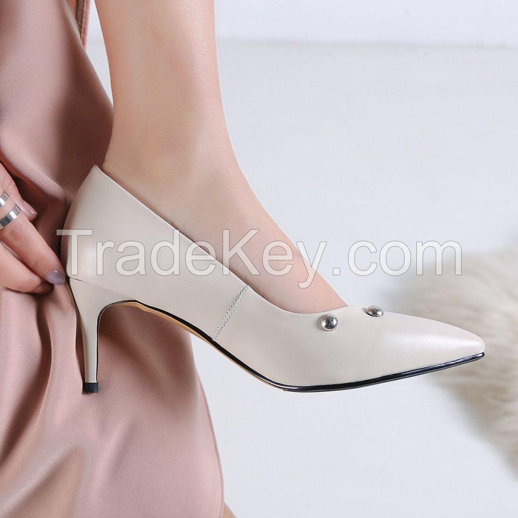 women fashion shoes leather shoes
