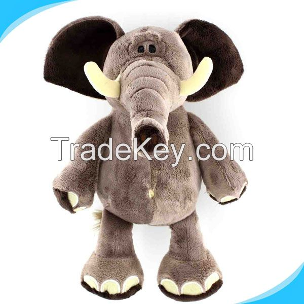 wholesale custom plush elephant toy , plush animal toys elephant toy