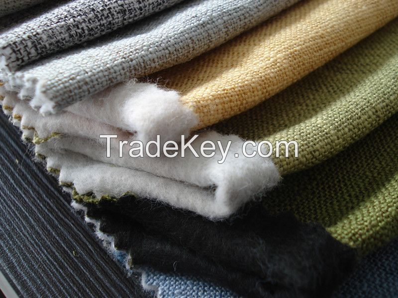 Home Textile Imitation Linen Fabric for Sofa