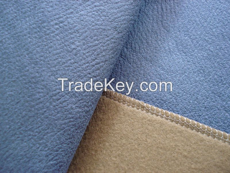 Polyester Leather Fabric for Sofa Covers