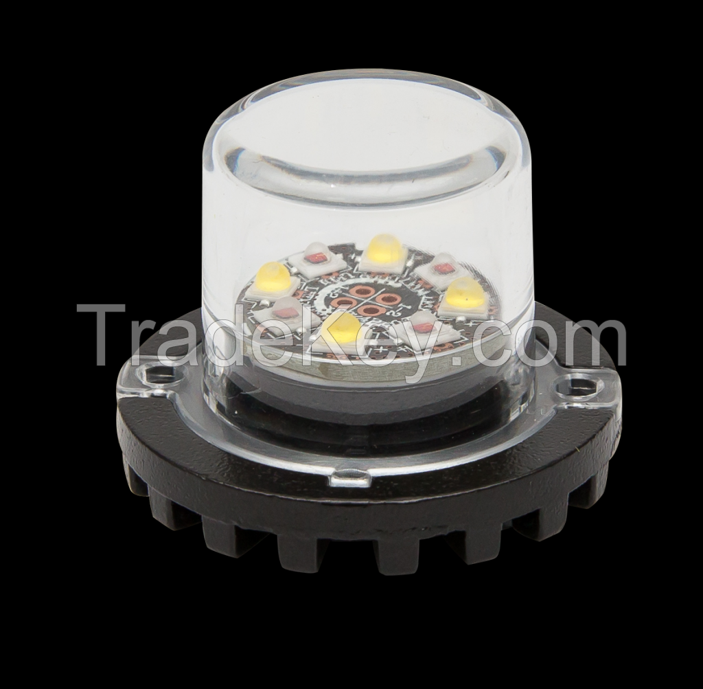 LED Hide A Way Strobe Light Emergency Warning Light ECE R10 Approval