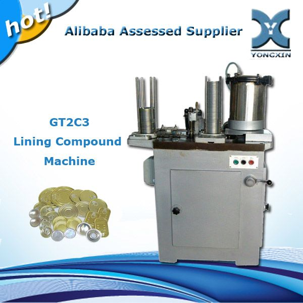 Metal Can Lid Glue Injecting Machine