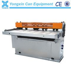 Tin can cutting machine
