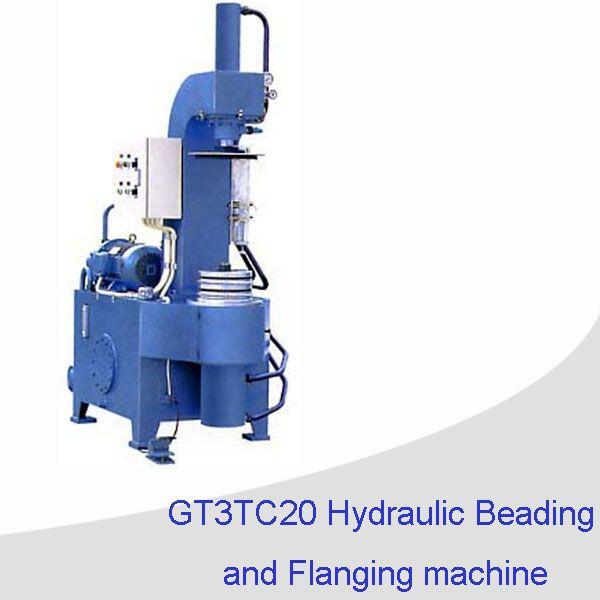 Tin can making machine/ hydraulic beading and flanging machine