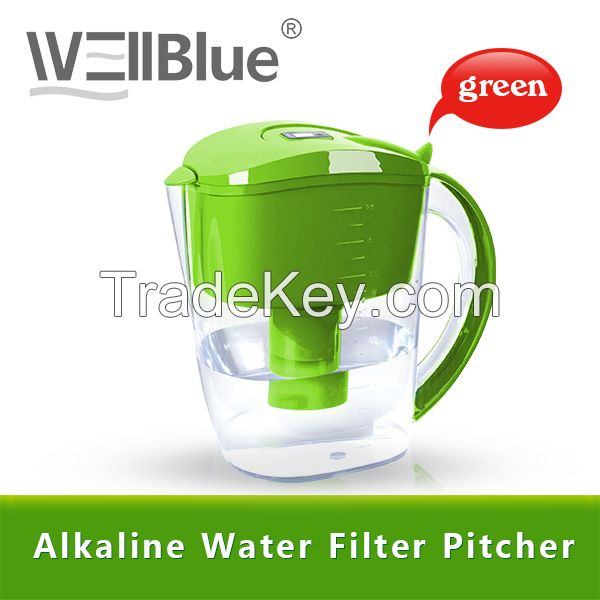 Wellblue BPA Free Plastic Water Purifier Pitcher