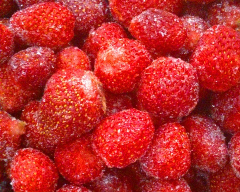 Strawberry frozen - crop 2013