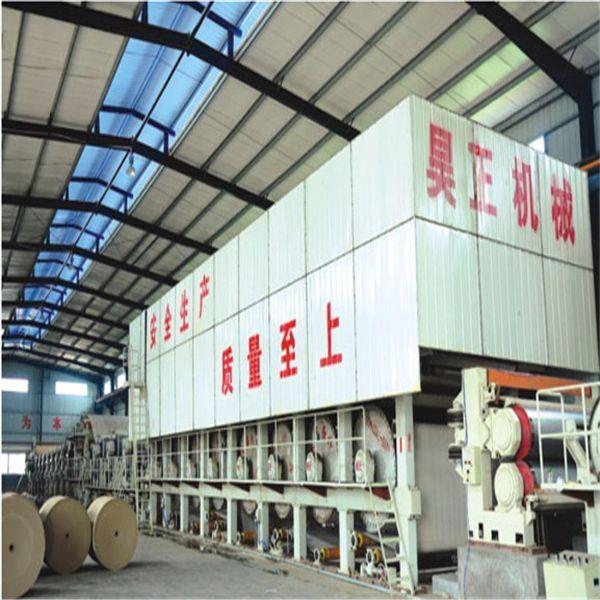 Hot Selling Kraft Paper Making Machine, 30 T/D, 2400mm width, waste