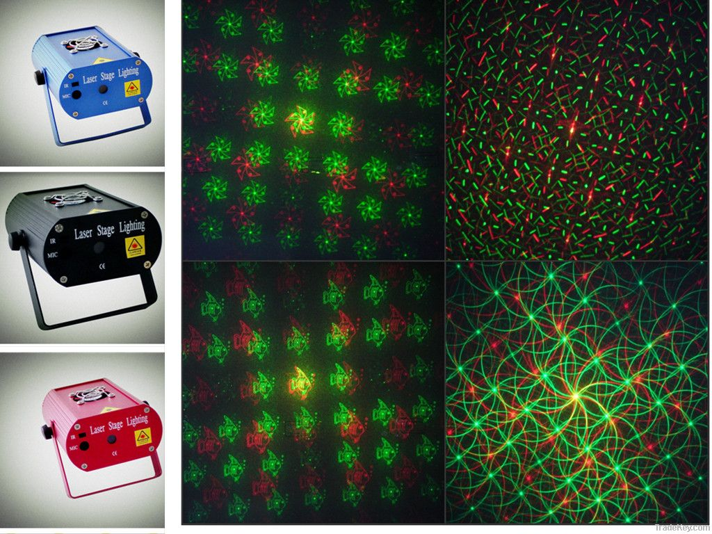 Mini Laser Stage Light party light disco light