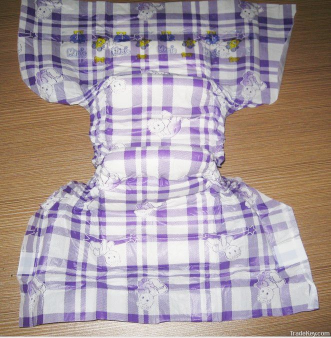 Deeply care  disposable baby diaper