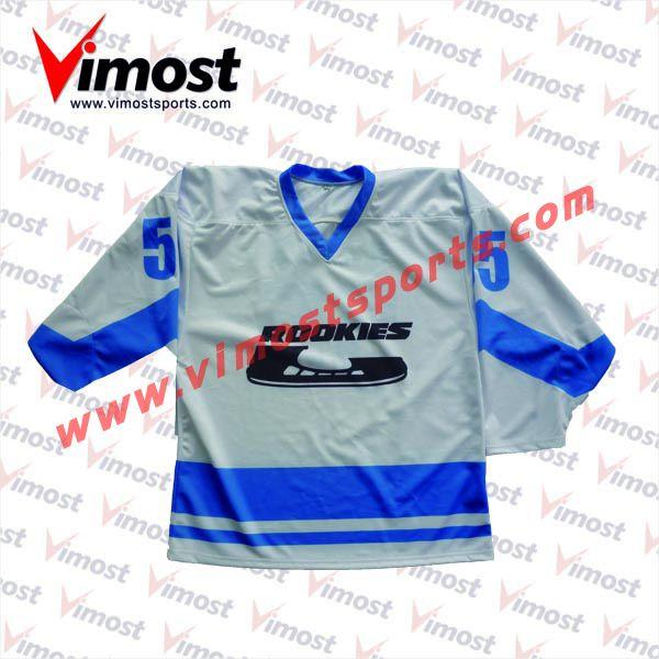 Ice hockey jersey design