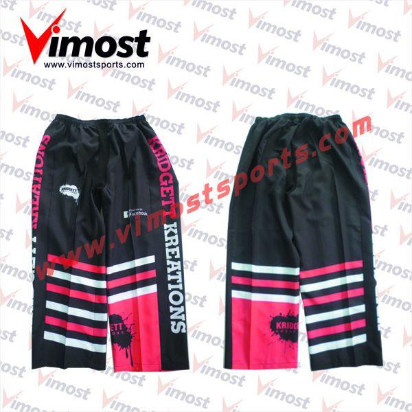 Never fade custom sublimation ice hockey pants