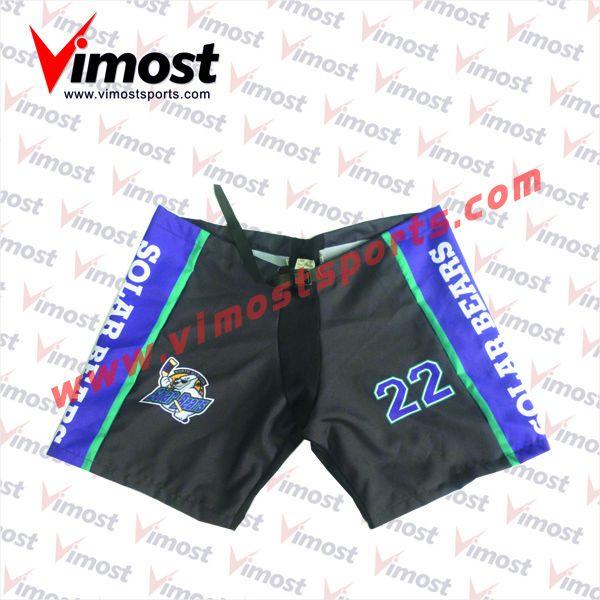 Custom sublimation ice hockey shorts