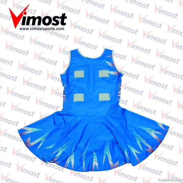 custom netball dress with sublimation