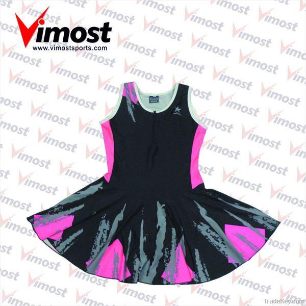 hot sale custom netball dress with sublimation , OEM