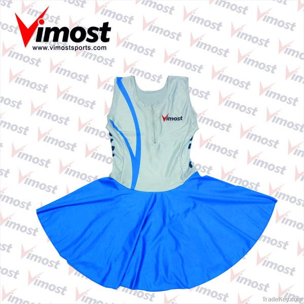 new design custom netball wear, netball dress
