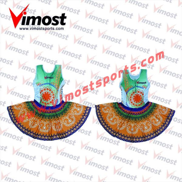 Custom dye-sub netball dress