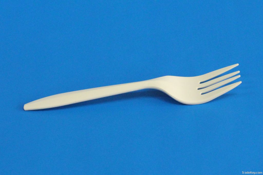 100% disposable biodegradable plastic cutlery