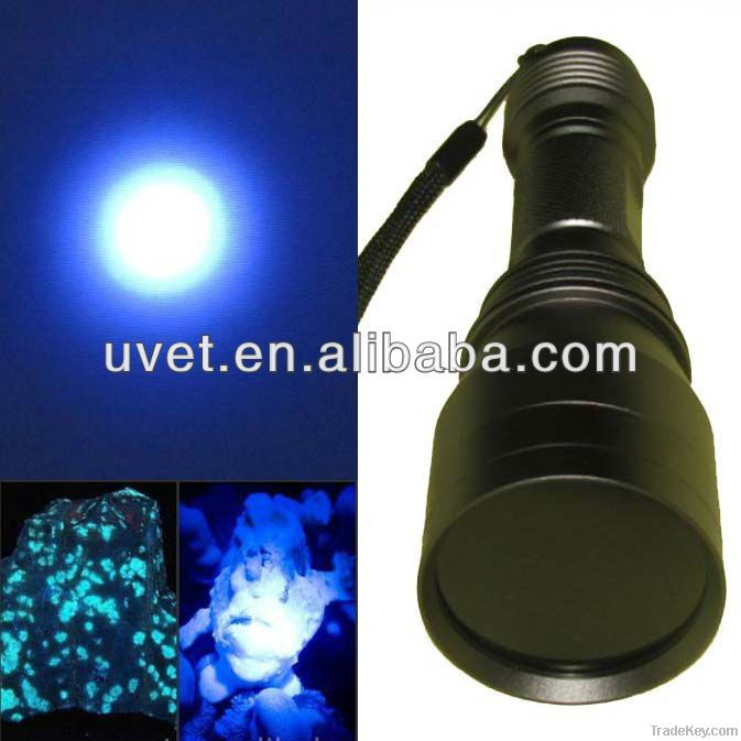 High Power 365nm uv led flashlight