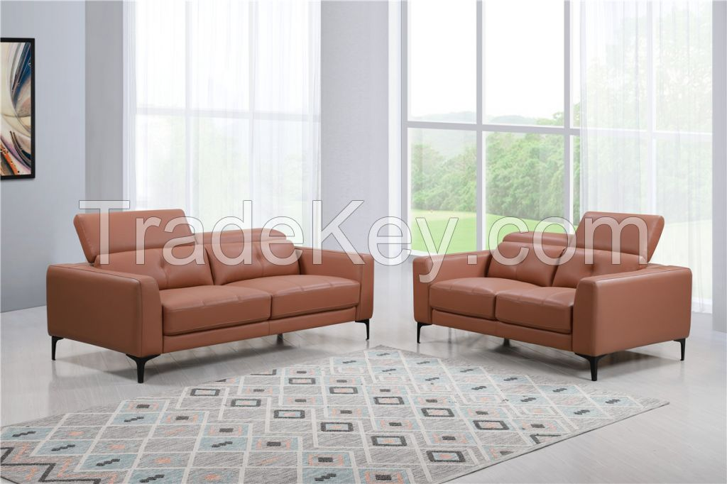 Grand Gold Imported Genuine Top Leather Sofa, living room sofas, morden sofas