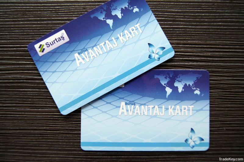 Contactless rfid smart cards