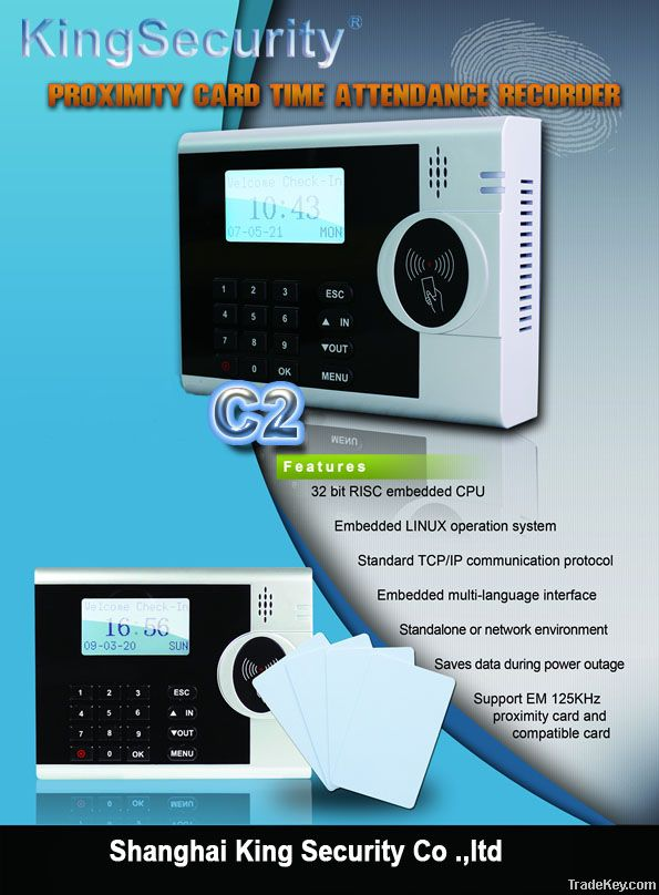 Finger Print Time Attendance Machines